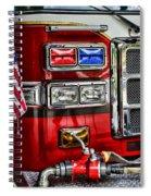 Fireman - Fire Engine Spiral Notebook
