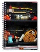 Fireman - Fire Fighting Supplies Spiral Notebook