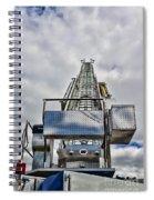 Fireman - Fire Ladder Spiral Notebook