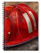 Fireman - Hat - A Childhood Dream Spiral Notebook