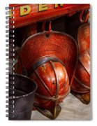 Fireman - Hats - I Volunteered For This  Spiral Notebook
