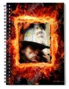 Fireman Hero Spiral Notebook