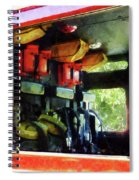 Fireman - Inside The Fire Truck Spiral Notebook