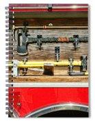 Fireman - Life Saving Tools Spiral Notebook