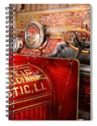 Fireman - Mastic Chemical Co Spiral Notebook