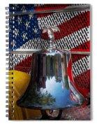 Fireman - Red Hot  Spiral Notebook