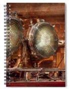 Fireman - Search Lights  Spiral Notebook