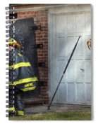 Fireman - Take All Fires Seriously  Spiral Notebook
