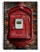Fireman - The Fire Alarm Box Spiral Notebook