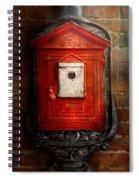 Fireman - The Fire Box Spiral Notebook