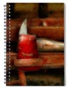 Fireman - The Fireman's Axe Spiral Notebook