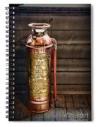 Fireman - Vintage Fire Extinguisher Spiral Notebook