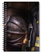 Fireman - Worn And Used Spiral Notebook
