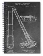 Fireman's Hydraulic Lift Spiral Notebook
