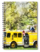 Firemen - Back At The Firehouse Spiral Notebook