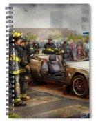 Firemen - The Fire Demonstration Spiral Notebook