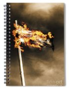 Fires Of Australian Oppression Spiral Notebook