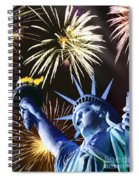 Fires Of Liberty Spiral Notebook