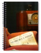 Fireside Chats With Fdr 01 Spiral Notebook