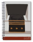Fireside Without You Spiral Notebook