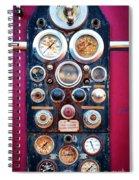 Firetruck Instruments Spiral Notebook