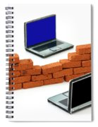 Firewall Protection For Laptops Spiral Notebook