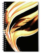Firewater 2 - Buy Orange Fire Art Prints Spiral Notebook