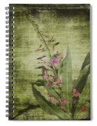 Fireweed - Featured In 'comfortable Art' Group Spiral Notebook