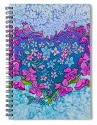 Fireweed Heart Spiral Notebook