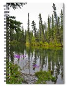 Fireweed On The Clearwater Spiral Notebook