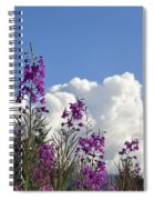 Fireweed Sky Spiral Notebook