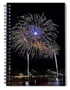 Firewoks Spiral Notebook