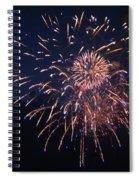 Fireworks 2014 Ix Spiral Notebook