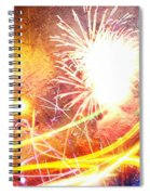 Fireworks As A Painting Spiral Notebook