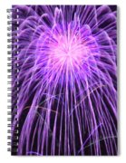 Fireworks At Night 2 Spiral Notebook