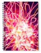 Fireworks At Night 6 Spiral Notebook