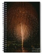 Fireworks Display Over Lake Union  Spiral Notebook