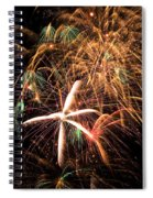 Fireworks Exploding Everywhere Spiral Notebook