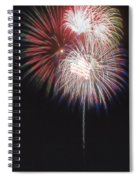 Fireworks For 4th Of July Spiral Notebook