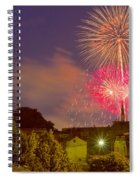 Fireworks Over St Louis Spiral Notebook