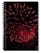 Fireworks Series Ix Spiral Notebook