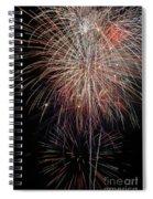 Fireworks6503 Spiral Notebook