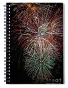 Fireworks6506 Spiral Notebook