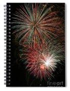 Fireworks6509 Spiral Notebook