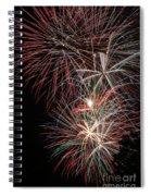 Fireworks6518 Spiral Notebook