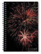 Fireworks6525 Spiral Notebook