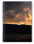 Firey Sky Spiral Notebook