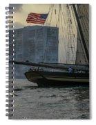 Firing Cannon Spiral Notebook