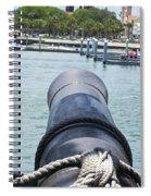 Firing On Saint Augustine Spiral Notebook