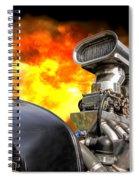 Firing Up The Rat Rod Spiral Notebook